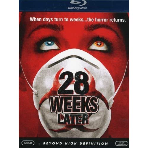 28 Weeks Later Blu-Ray On Blu-Ray With Jeremy Renner Horror