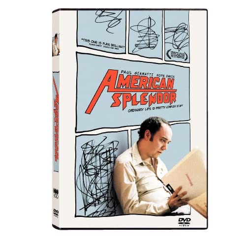 Image 0 of American Splendor On DVD With Paul Giamatti Comedy