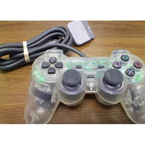 Image 0 of Sony OEM PlayStation Analog Transparent Clear Controller SCPH-1200 For PlayStati