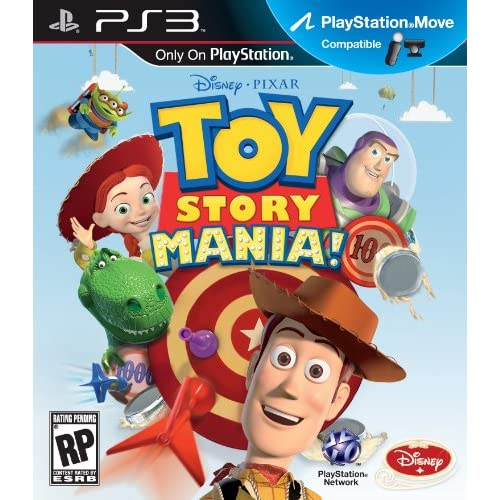 Image 0 of Toy Story Mania For PS3 Move For PlayStation 3 Disney Arcade