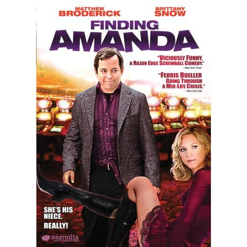 Image 0 of Finding Amanda With Matthew Broderick On DVD