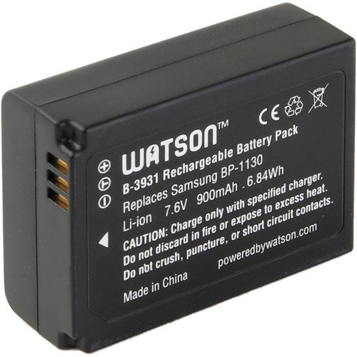 Image 0 of Watson BP-1130 Lithium-ion Battery Pack 7.6V 900MAH Replacement For Samsung BP-1