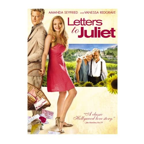 Letters To Juliet On DVD With Amanda Seyfried Drama