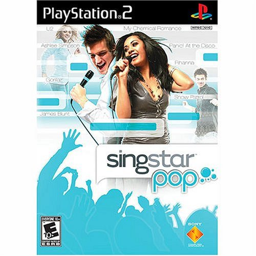 Image 0 of Singstar Pop For PlayStation 2 PS2 Music
