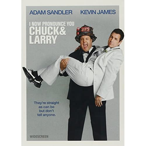 I Now Pronounce You Chuck And Larry Widescreen Edition On DVD With