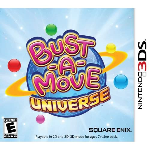 Bust-A-Move Universe Nintendo For 3DS Puzzle