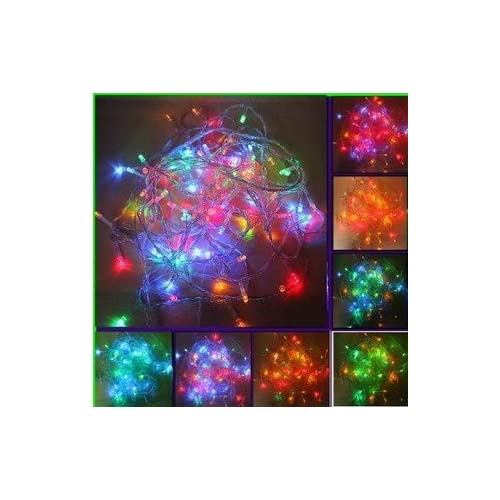 Colored String Lights For Patio : LED Fairy String Lights In Muti-color For Patio Garden Indoor