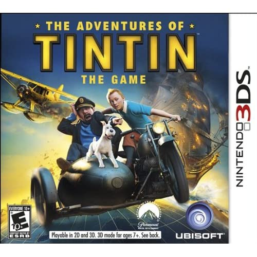 The Adventures Of Tintin: The Game Nintendo For 3DS