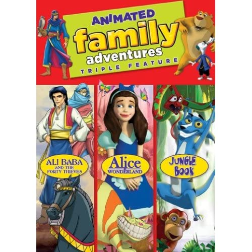 Image 0 of Animated Family Adventures On DVD
