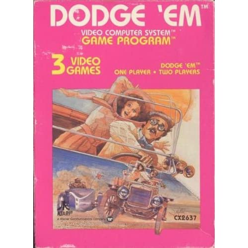 Dodge 'Em For Atari Vintage