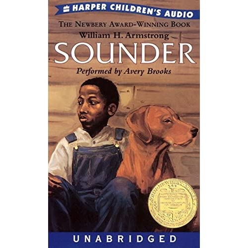 Image 0 of Sounder By William H Armstrong And Avery Brooks Narrator On Audio Cassette