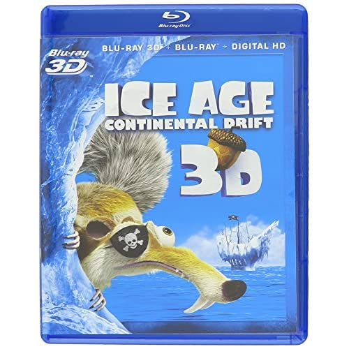 Ice Age: Continental Drift 3D On Blu-Ray