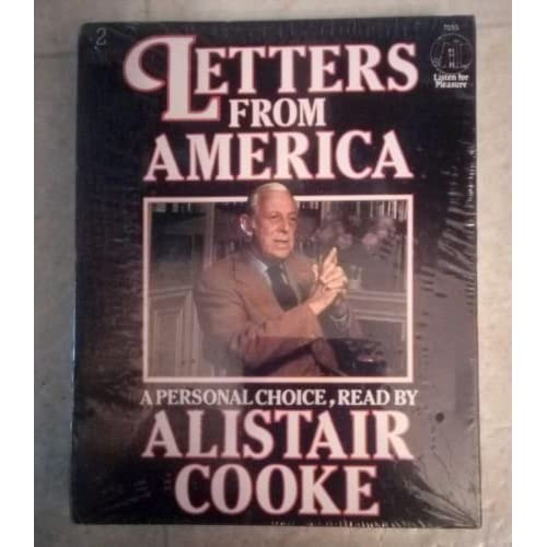 Image 0 of Letters From America By Alistair Cooke On Audio Cassette