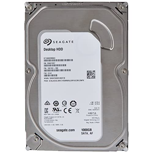 Image 0 of Seagate 1TB Desktop Hdd SATA 6GB/S 64MB Cache 3.5-inch Internal Bare Drive ST100