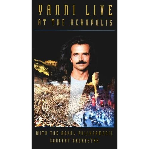 Image 0 of Yanni Live At The Acropolis On VHS