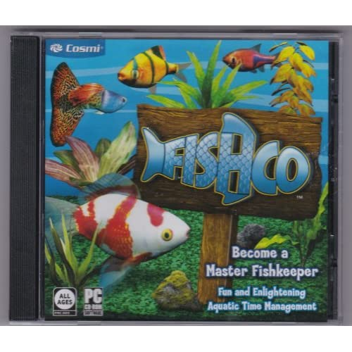 Image 0 of Fishco PC Software Become A Master Fish Keeper