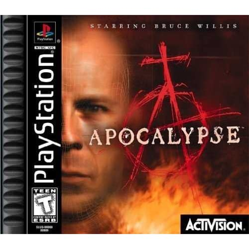 Apocalypse For PlayStation 1 PS1