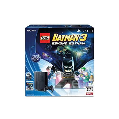 Image 0 of Lego Batman 3: Beyond Gotham The Sly Collection PlayStation 3 500GB