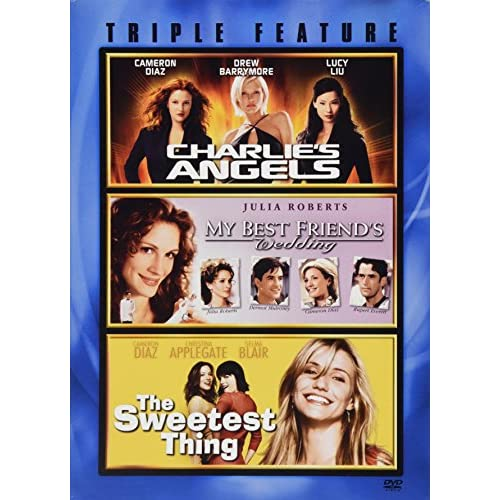 Image 0 of Charlie's Angels My Best Friend's Wedding And The Sweetest Thing Triple Feature