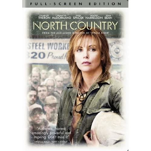 North Country Full Screen Edition On DVD With Charlize Theron