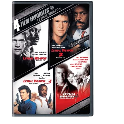 Image 0 of 4 Film Favorites: Lethal Weapon Lethal Weapon: Director's Cut Lethal Weapon 2: D