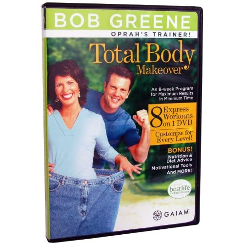 Image 0 of Bob Greene Total Body Makeover And Book On DVD Exercise
