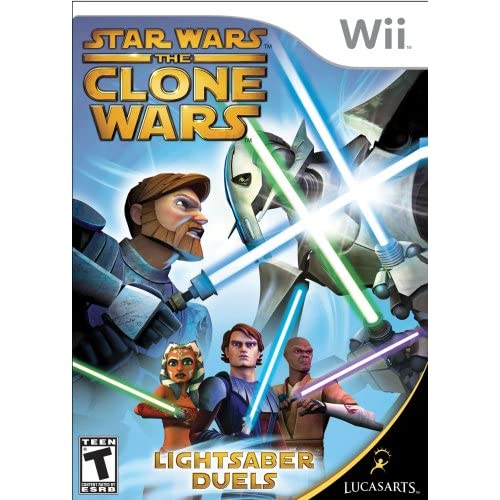 Image 0 of Star Wars The Clone Wars: Lightsaber Duels For Wii And Wii U