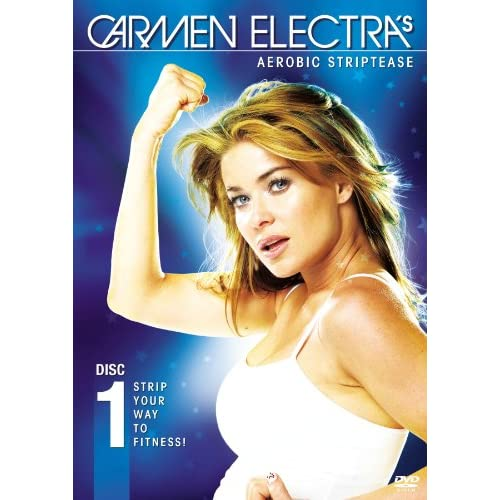 Image 0 of Carmen Electra's Aerobic Striptease On DVD