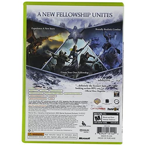 Image 2 of Lord Of The Rings: War In The North For Xbox 360