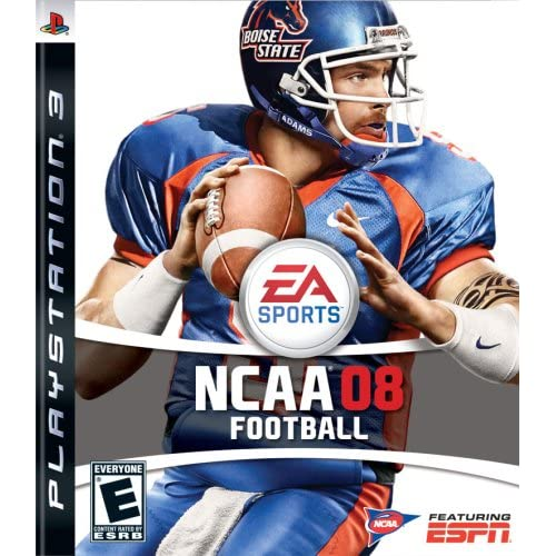 NCAA Football 08 For PlayStation 3 PS3