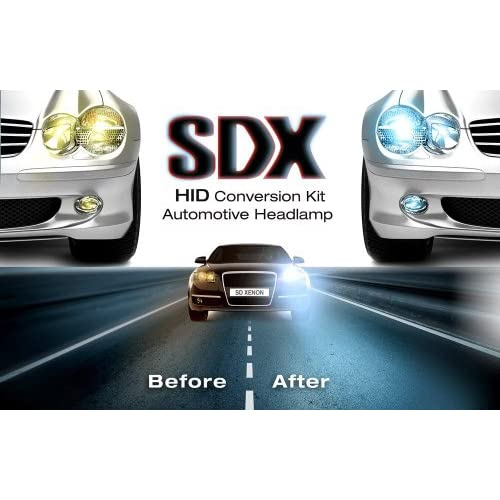 Hid Xenon DC Headlight Slim Conversion Kit By Sdx H4 Dual-Beam Bi
