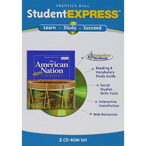 Image 0 of Prentice Hall The American Nation Student Express 2005C Software