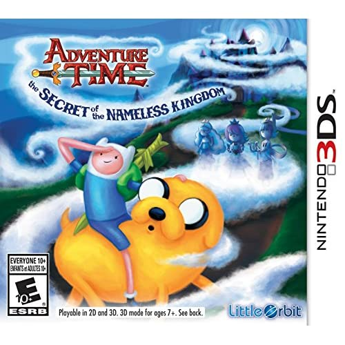 Adventure Time: The Secret Of The Nameless Kingdom Nintendo For 3DS