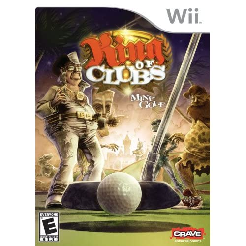 Image 0 of King Of Clubs For Wii And Wii U Golf
