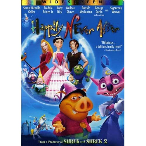 Happily N'ever After Widescreen Edition On DVD With Sigourney Weaver
