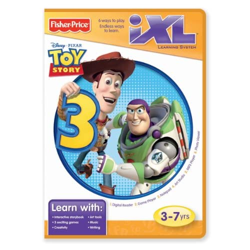 Image 0 of Fisher Price Ixl Learning System Software Toy Story 3