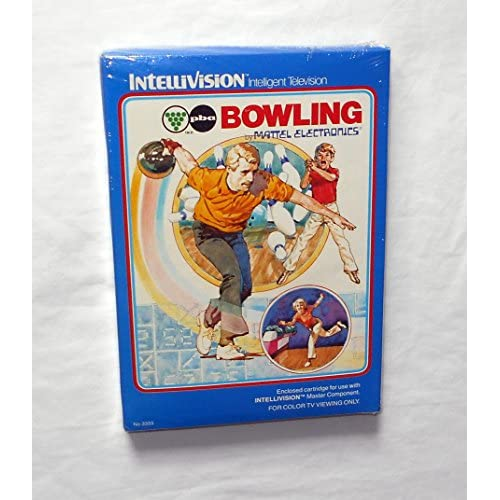 Bowling Intellivision With Manual And Case