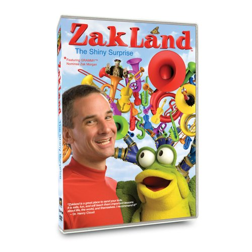 Image 0 of ZakLand: The Shiny Surprise On DVD with Amanda Lee Children