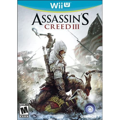 Assassin's Creed III For Wii U With Manual and Case