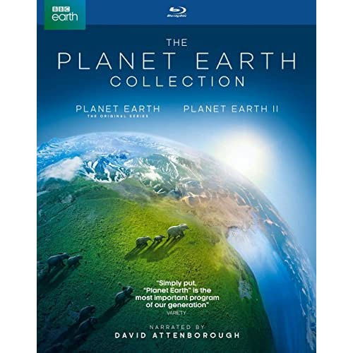 Planet Earth I And II Giftset On Blu-Ray With David Attenborough On