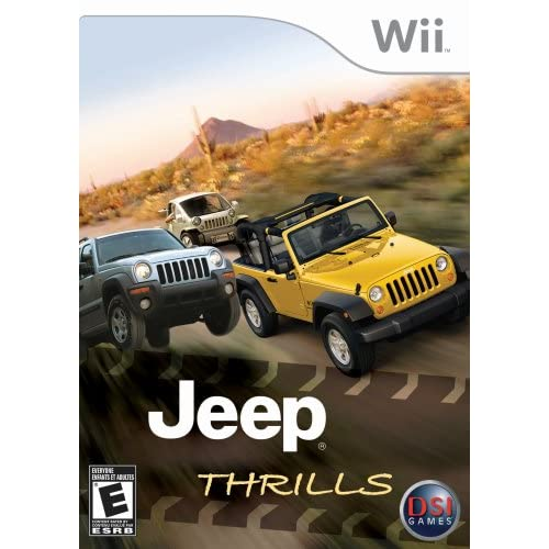 Image 0 of Jeep Thrills For Wii And Wii U Racing