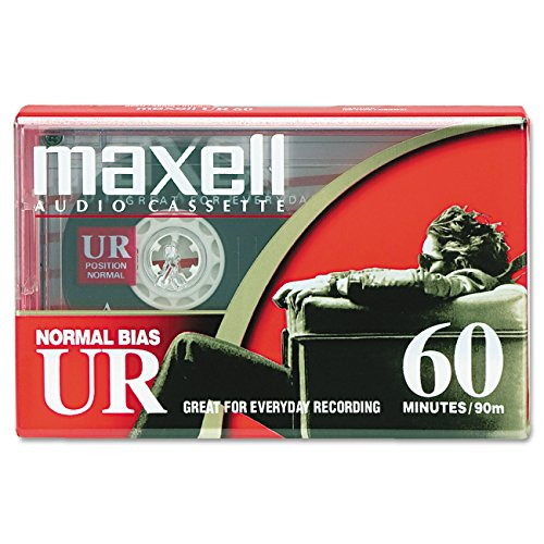 Image 0 of Dictation And Audio Cassette Normal Bias 60 Minutes 30 X 2 By Maxell Consumer Ta