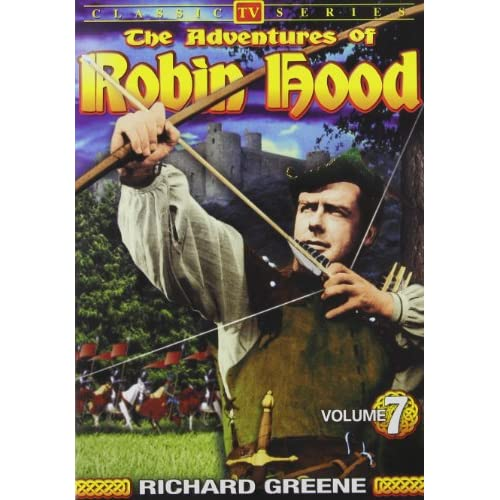 Image 0 of The Adventures Of Robin Hood Vol 7 On DVD With Richard Greene