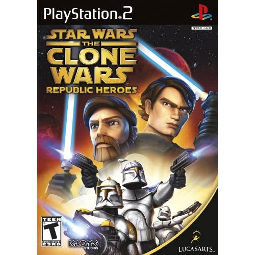 Image 0 of Star Wars The Clone Wars: Republic Heroes For PlayStation 2 PS2