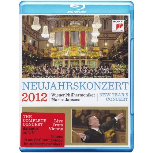 Neujahrskonzert: New Year's Concert 2012 On Blu-Ray