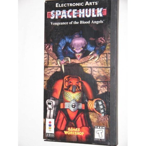 Space Hulk: Vengeance Of The Blood Angels For 3DO With Manual And Case