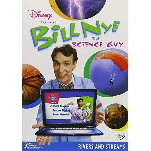 Image 0 of Bill Nye The Science Guy: Rivers & Streams On DVD Disney