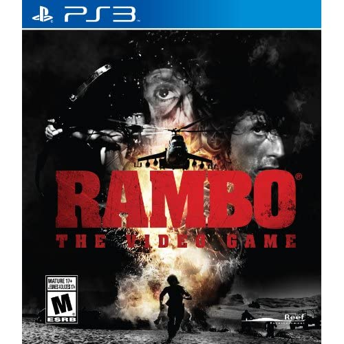 Rambo The Video Game For PlayStation 3 PS3 Fighting