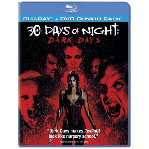 Image 0 of 30 Days Of Night: Dark Days Two-Disc Blu-Ray/dvd Combo On Blu-Ray With James Piz