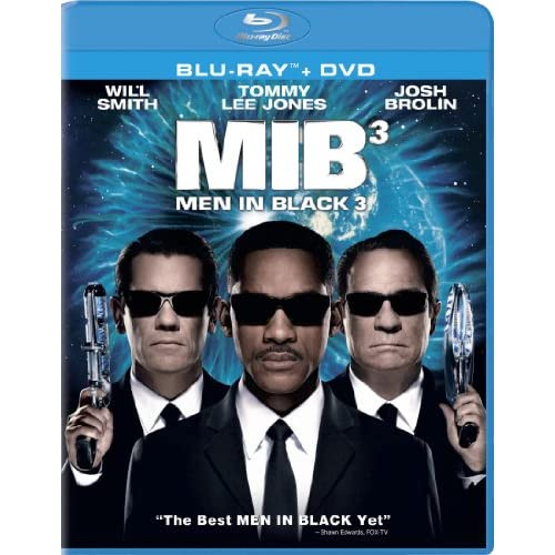 Image 0 of Men In Black 3 Blu-Ray On Blu-Ray With Will Smith Comedy